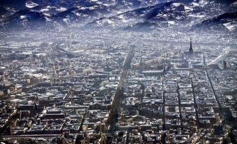 İTALYA – Turin'in kuşbakışı görünümü